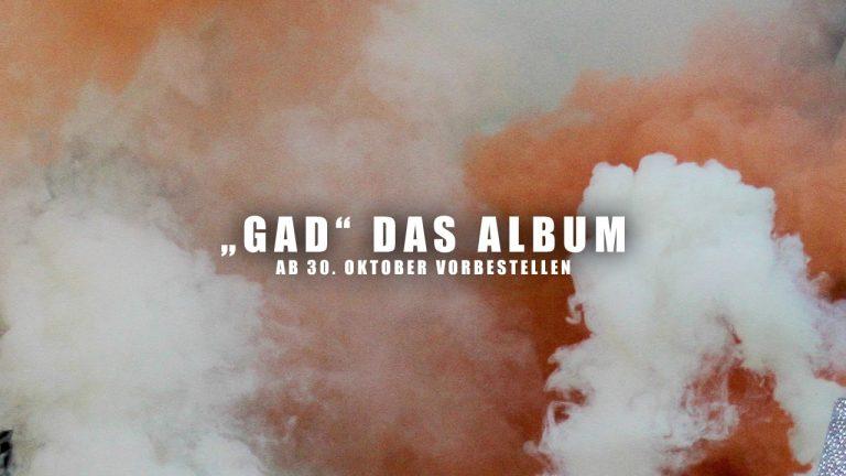 Prressebild GAD Album Ankündigung